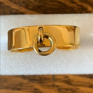 Cc skye gold cuff bangle ring bracelet